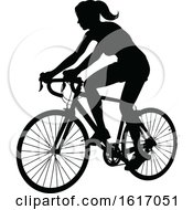 November 17th, 2018: Female Cyclist by AtStockIllustration