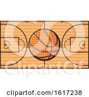 Poster, Art Print Of Basketball Logo