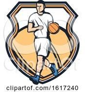 Poster, Art Print Of Basketball Sports Design