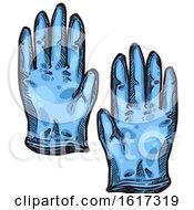 Pair Of Medical Gloves