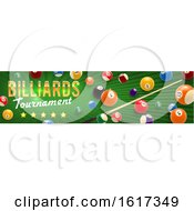 Poster, Art Print Of Billiards Design