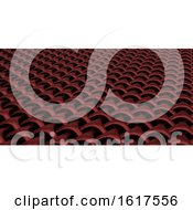 3D Geometric Weave Abstract Wallpaper Background by KJ Pargeter