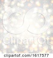 Christmas Lights And Snowflakes