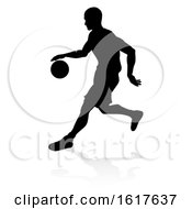 Basketballl Player Silhouette by AtStockIllustration