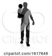 Father And Child Family Silhouette