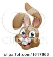 Poster, Art Print Of Cartoon Easter Bunny Rabbit