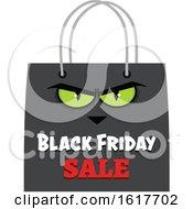 Black Friday Sale Shopping Bag Mascot