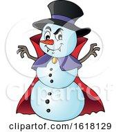 Vampire Snowman by visekart