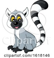 Happy Lemur by visekart