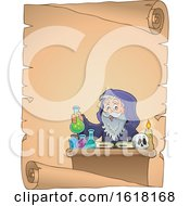 Poster, Art Print Of Wizard Performing Alchemy