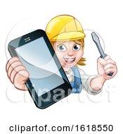 Electrician Handyman Phone Concept