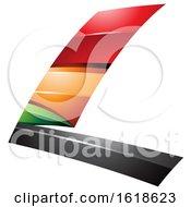 Colorful Flying Letter L