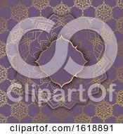 Poster, Art Print Of Elegant Background With Decorative Pattern