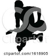 Poster, Art Print Of Musician Guitarist Silhouette