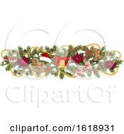 Christmas Border Design Element by Vector Tradition SM