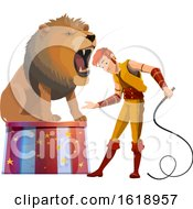Circus Lion Tamer by Vector Tradition SM