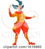Circus Clown by Vector Tradition SM