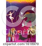Poster, Art Print Of Circus Design