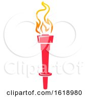 Flaming Torch