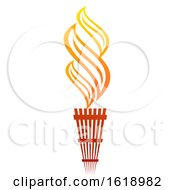 Poster, Art Print Of Flaming Torch