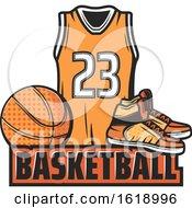 Poster, Art Print Of Basketball Design
