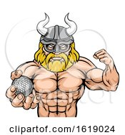 Viking Golf Sports Mascot by AtStockIllustration