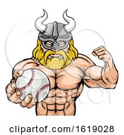 Viking Baseball Sports Mascot by AtStockIllustration