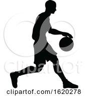 Poster, Art Print Of Basketballl Player Silhouette