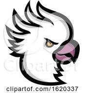 Poster, Art Print Of Crested Cockatoo Head Mascot