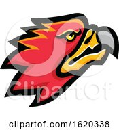Poster, Art Print Of Firebird Head Mascot