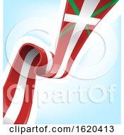 Poster, Art Print Of Basque Flag Background