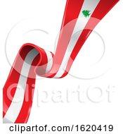 Poster, Art Print Of Lebanon Flag Background