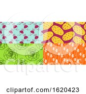 Poster, Art Print Of Pop Art Styled Vegetables