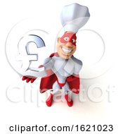 January 16th, 2019: 3d White Male Super Chef On A White Background by Julos