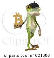 January 18th, 2019: 3d French Frog On A White Background by Julos