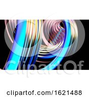 Poster, Art Print Of Abstract Waves - 3d Illustration