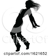 Street Dance Dancer Silhouette by AtStockIllustration