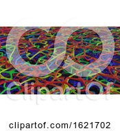 Poster, Art Print Of 3d Render Of Abstract Chaotic Elements