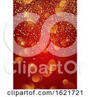 Festive Gold Confetti Background