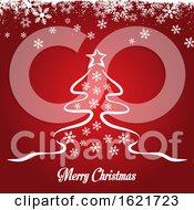 Sketched Christmas Tree Design