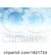Snowy Christmas Landscape