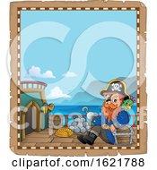 Pirate Captain Border