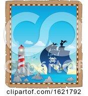 Pirate Ship Border
