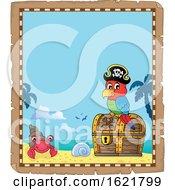 Pirate Parrot Border
