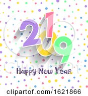 Cute Happy New Year Design by KJ Pargeter
