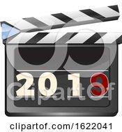 Film Slate Ciak With 2019