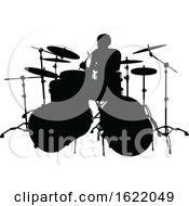 Musician Drummer Silhouette
