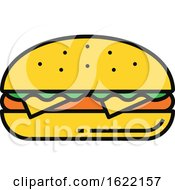 Cheeseburger Food Icon