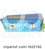Super Market Store Front by Vector Tradition SM