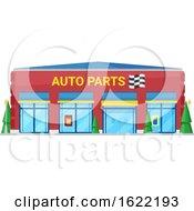 Auto Parts Store Front